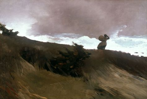 West Wind. Winslow Homer