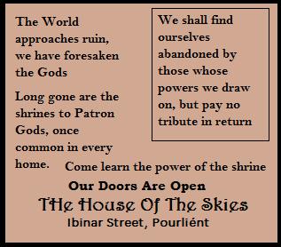 House Of Skies Flyer