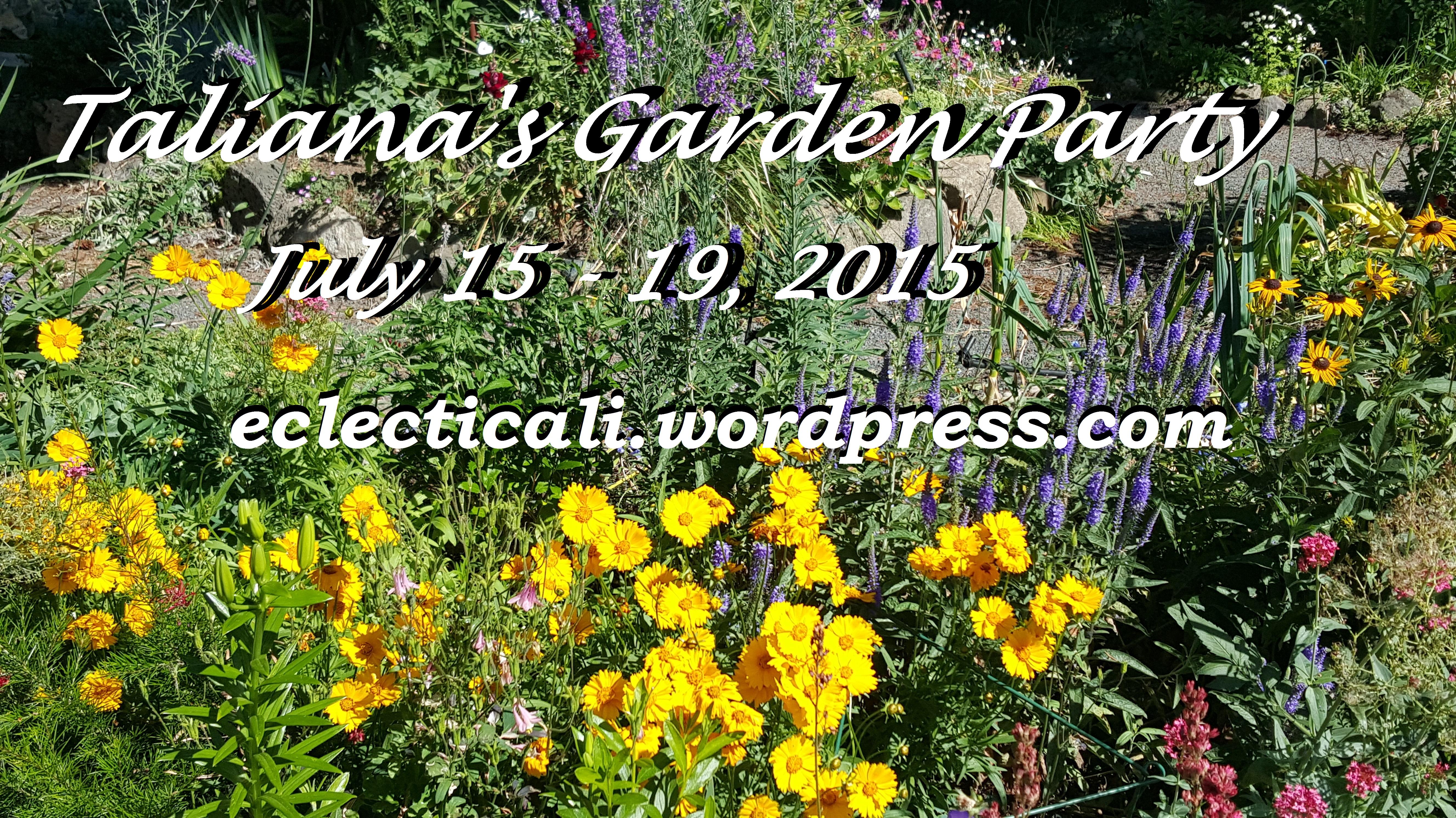 Taliana's Garden Party